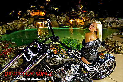 """Custom Built Motorcycles : Chopper """"MONEY TO BURN"""" IS A  SHOW STOPPER IT SHOULD HAVE BEEN NAMED """"UNDEFEATED"""""""