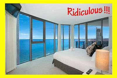 Above Hilton Hotel - Level 51 Sky Home - Central Surfers Paradise