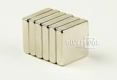 5pcs Super Strong Cuboid Block Magnets 20 x 20 x 5 mm Rare Earth Neodymium N35