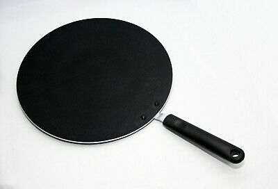 "30Cm / 12"" Large Non Stick Tawa Tava Pan Indian Naan Roti Chapati Bread Pancake"