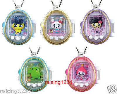 BANDAI Tamagotchi Character keychain 4 Gashapon Figure (Full set of 5)