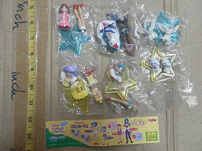Yujin Magical girl fancy lala creamy mami figure gashapon part 1 set