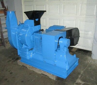 Schutz O'Neil Air Swept Pulverizer, Model 20, 40 HP