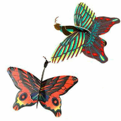 6 Butterfly Gliders - Polystyrene Planes Loot/Party Bag Fillers Wedding/Kids