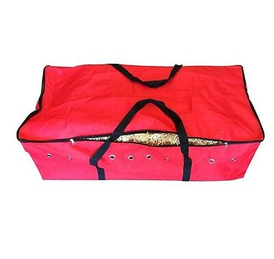 RED HAY BALE BAG Carry Storage Water Ski Wake Board Camping Horse Riding Gear La