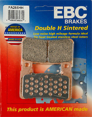 EBC - FA265HH - Double-H Sintered Brake Pads Front 61-0265 15-265H 7605-394