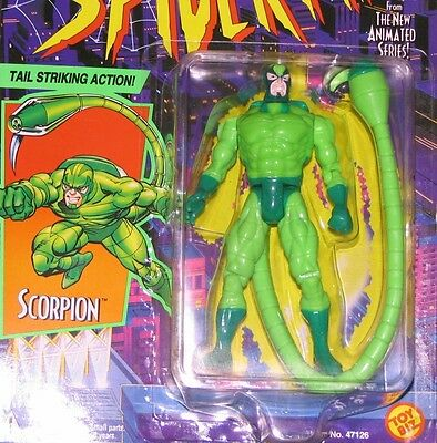 Spider-Man MOC 1994 Animated Series SCORPION action figure TOY BIZ