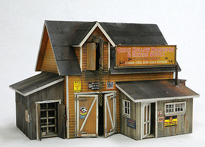O SCALE On3/On30 BANTA MODEL WORKS #6127 CRICK HOLLOW HARDWARE & MINERS SUPPLY