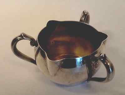 Vintage RARE 3 Handle 3 Spout Silver Plated Oneida Creamer