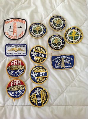 Lot (12) Aviation / Air Patches