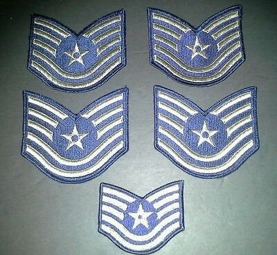 Us air force technical sergeant stripes patches world war II