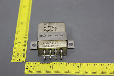 NEW BABCOCK MI SPEC RELAY 10A 270ohm 26.5V COIL BH119-2  (S18-T-26A)