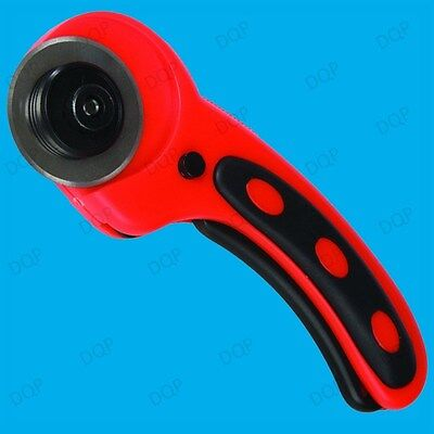 45mm Rotary Cutter, Fabric Cutting Tool, Quilters Crafts Sewing Quilting Tailors