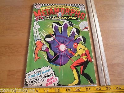 Metamorpho #8 VG- Silver Age comic 1960's The Element Man