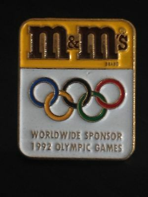 Olympic Pin´s -  M&M Worldwide Sponsor  - Olimpic Games -Juegos Olimpicos  (E33)