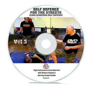 Self Defence DVD Street Fighting Win Fight When You're Down Survive Attack Vol 3