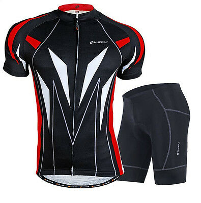 Men's Cycling Bicycle Jersey & Shorts Set Outdoor Sportswear Clothing Bike M-XXL