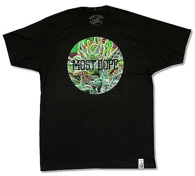 Mac Miller Most Dope Black T Shirt New Official Weed Pot