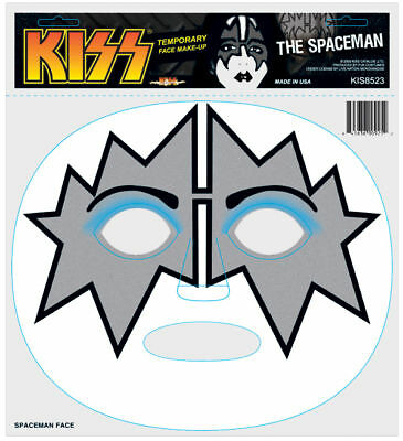Kiss Halloween Costume Temporary Make Up Decal - Ace Frehley Spaceman