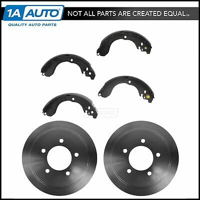 Brake Drum & Shoe Rear Set Kit for Chrysler Dodge Jeep