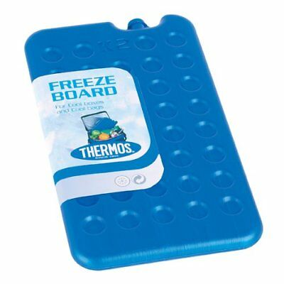 Thermos Freeze Board Ice Pack Block 400g For Cool Bag Chill Box Cooler