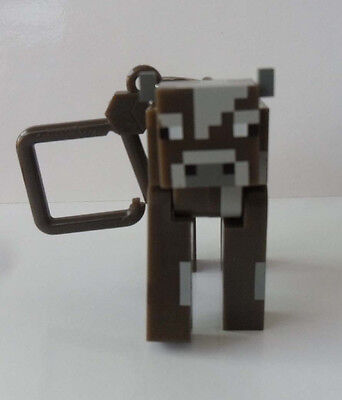 1PCS  Minecraft Hanger  Figure Backpack Keychain Clip 3D Toys RR 15