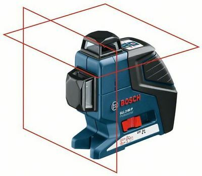 Bosch GLL 2-80P 2-Plane Cross Line Laser 360 Degrees in Horizontal and Vertical
