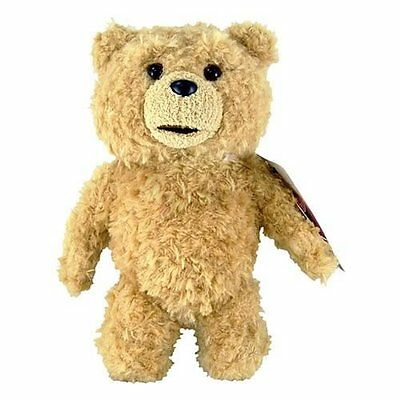 """Ted  8"""" Plush with Sound (explicit) Commonwealth Toys"""