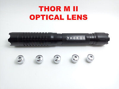 Thor M II 2 450nm Adjustable Military Power Blue Laser Pointer Torch BURN Match