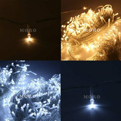 500LED 100M String Christmas Light In/Outdoor Party Garden Waterproof Lighting