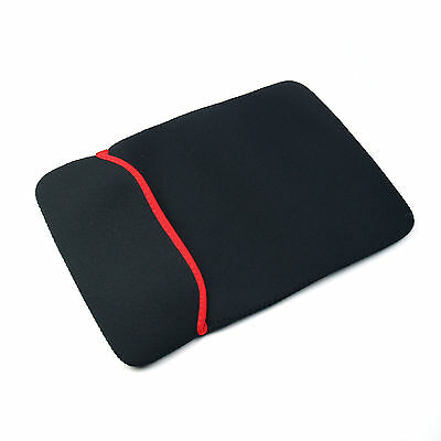 """Double-Side Soft Sleeve Protection Case Bag Cover F/ 15.4"""" 15.6"""" Notebook Laptop"""