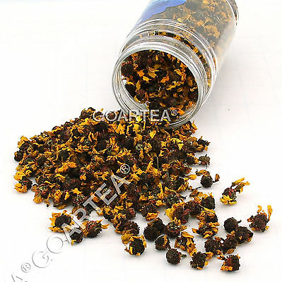 GOARTEA Premium Organic Coreopsis tinctoria Snow Chrysanthemum Flower Herbal Tea