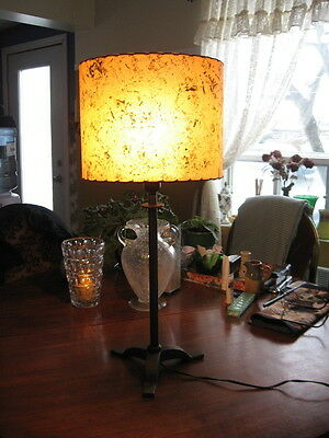 "#16 BEAUTIFUL VINTAGE TABLE LAMP art deco 27"" INCHES TALL"