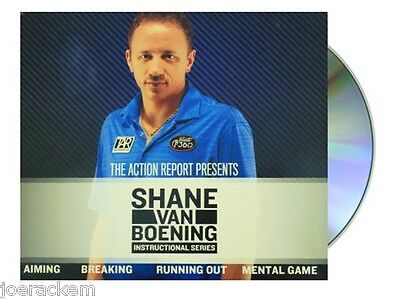 Shane Van Boening Instructional Series DVD, An Inside Look on What Makes a Champ