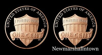 2013 2014 S Lincoln Shield Penny Mint Proof Set from Original US Proof Sets