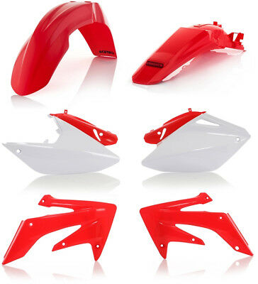 Acerbis Replacement Plastic Kit For Honda CRF250X 2004-2009 Red White
