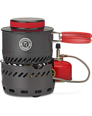 Primus Spider Stove Set Lightweight Compact Motorcycle Camping Gas Cooker ETA