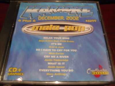 Chartbuster 6+6 Karaoke Disc 40299 December 2002 Male Pop Cd+G Multiplex