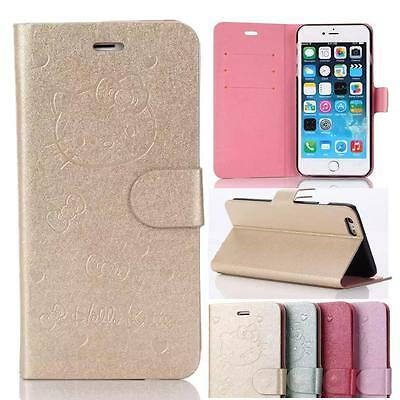 Embossing PU Leather Flip Wallet Stand Case Cover For iPhone 6 4.7 & Plus 5.5