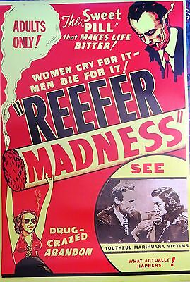 Reefer Madness classic  -Licensed POSTER-90cm x 60cm-Brand New