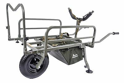 Prestige Carp Porter NEW MK2 Fishing Barrow + FREE Barrow Cover & Middle Bag