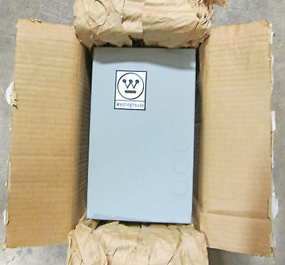 Westinghouse 30 Amp Enclosed Lighting Contactor A202S1BA with an A202K1BAM