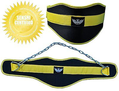 Dipping Belt Extra Heavy Duty Neoprene Material Senshi Japan With Free Chain NEW