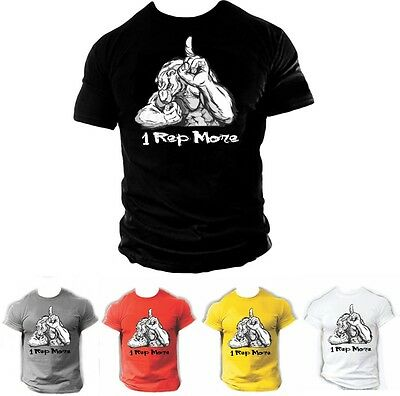 Mens MMA GYM BODYBUILDING MOTIVATION T-Shirt BEST WORKOUT CLOTHING TRAINING TOP