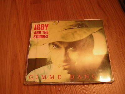 Iggy Pop And The Stooges Cd  Gimme Danger Import France Limted 1000 Copies