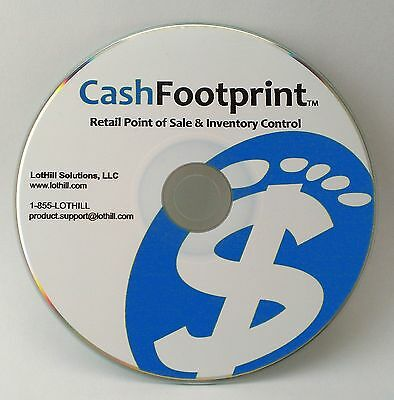 POS Software, Standard Retail Point-of-Sale, Unlimited Items, Free Updates
