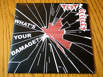 """Test Icicles - What's Your Damage  7"""" Vinyl Ps"""