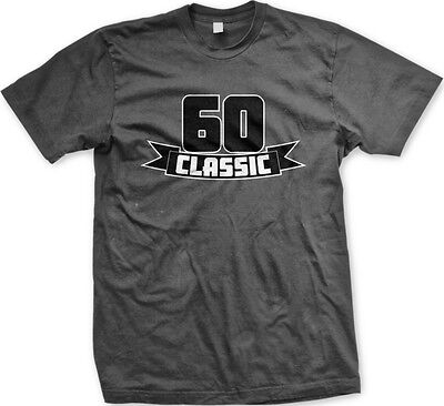 MENS FUNNY 60TH Birthday T Shirt This Is What Awesome Sixty Year