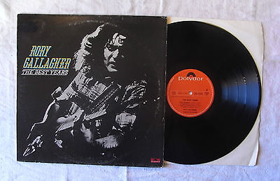 Rory Gallagher ‎– The Best Years  LP