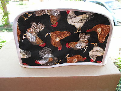 Chickens 2 Slice Toaster Appliance Cover, New